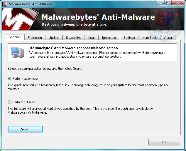 How to Remove Antivirus System PRO [Removal Guide] Mbam010