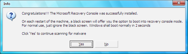 I don't know how to remove this virus? Cf510